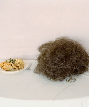 "A Plate of ""Good"" Hair © Nakeya Brown"