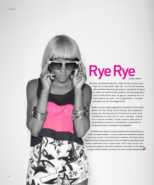 PYNK Magazine rye-rye
