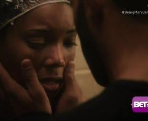 Mr. Trifling comforting Mary Jane (though he has NO business doing so) ©BET